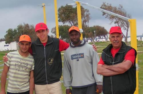 L'équipe Trampo Maroc e