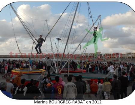 Marina - Bouregreg à RABAT en 2012