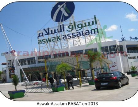Aswak-Assalam RABAT en 2013